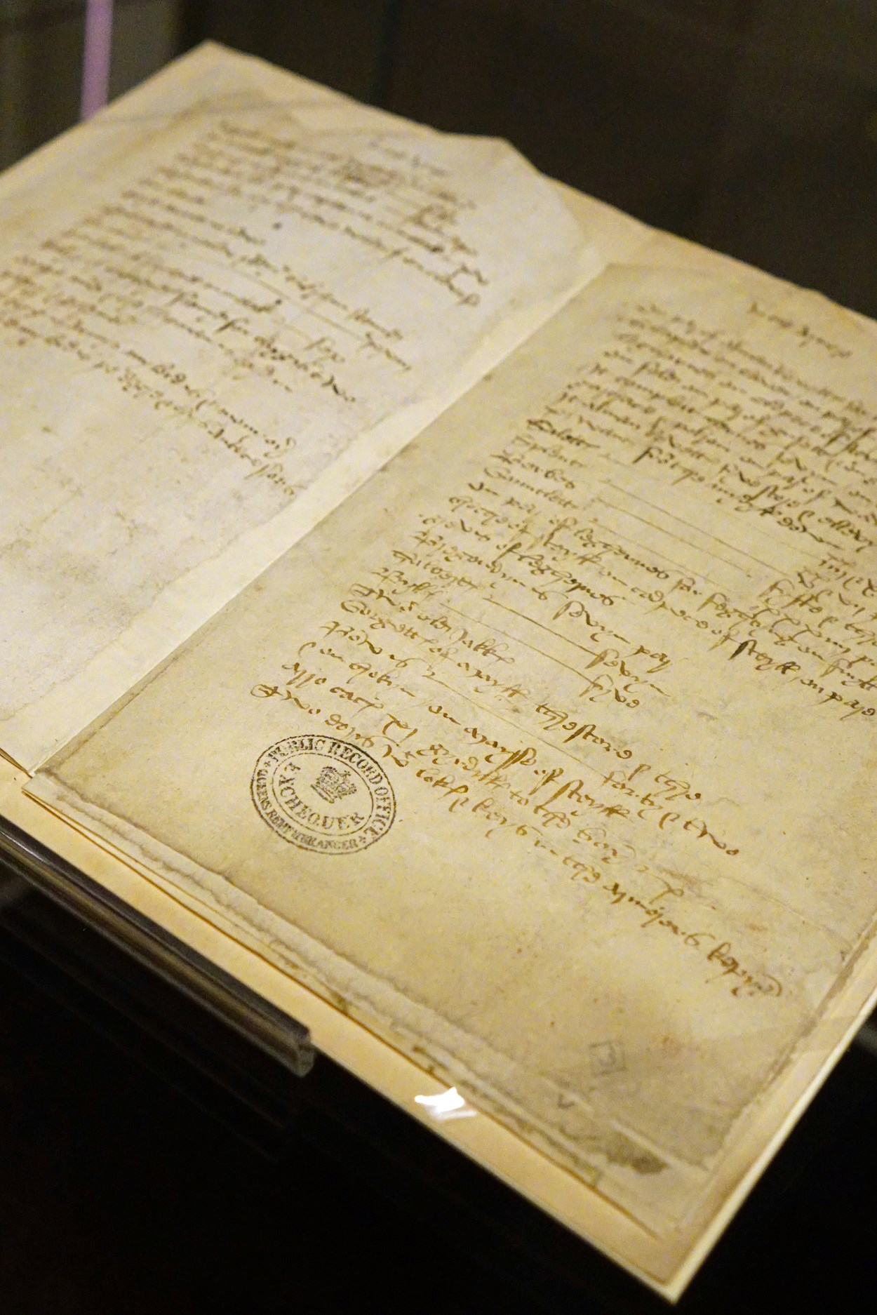 Below the Salt: The 500 year-old inventory of Temple Newsam House, on loan from The National Archives for Below the Salt.