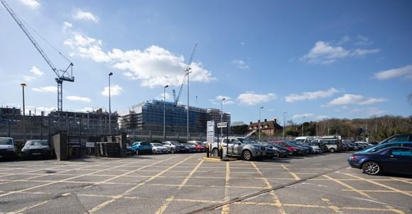 TfL Image - Stanmore Station car park