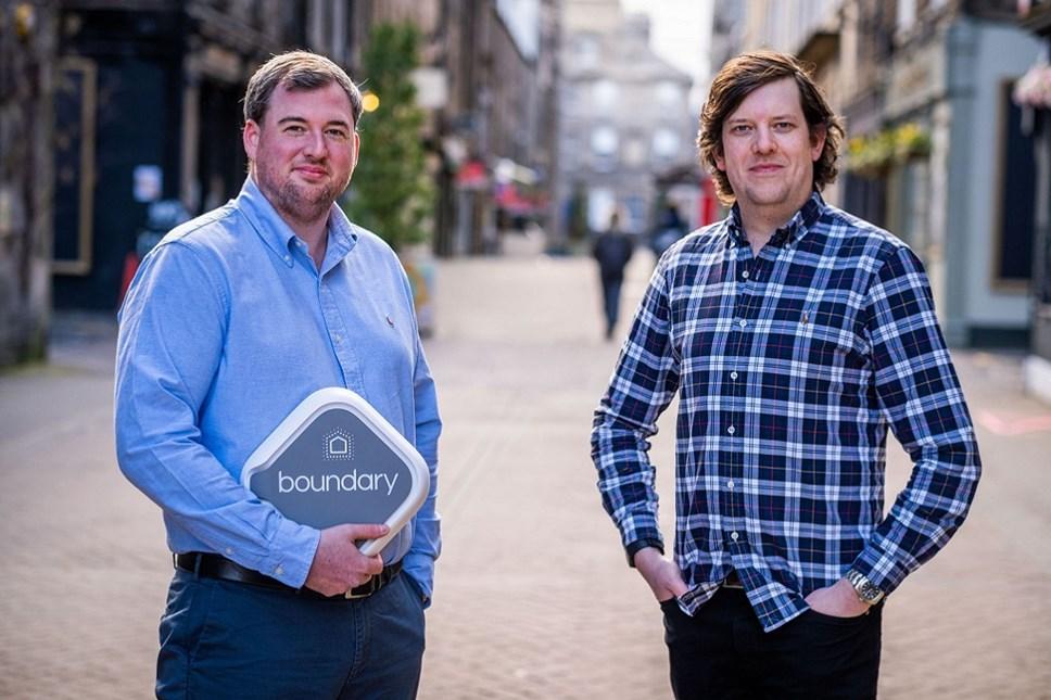 Boundary founders Robin Knox and Paul Walton