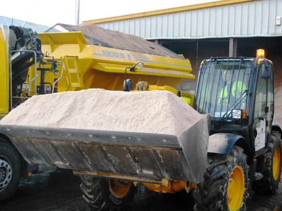TfL Image - A fleet of 39 gritters will be helping to keep roads and pavements clear