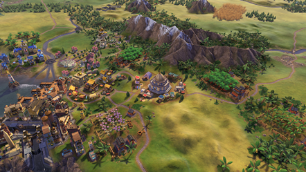 Civilization VI - New Frontier Pass - Babylon Pack - Trading Dome