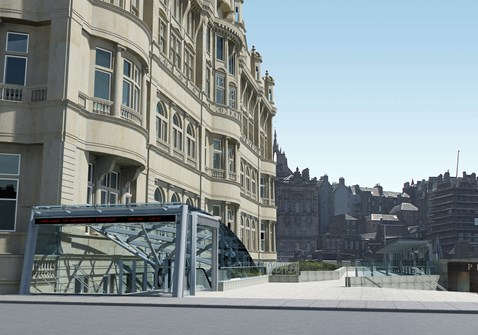 Waverley Steps and lift access - artist impressions_2