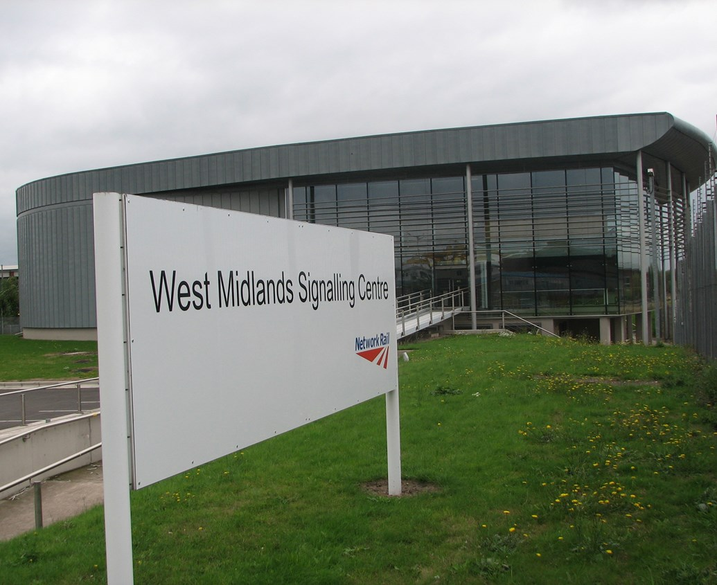 £350 MILLION INVESTMENT IN SIGNALLING GETS UNDERWAY: West Midlands Signalling Centre