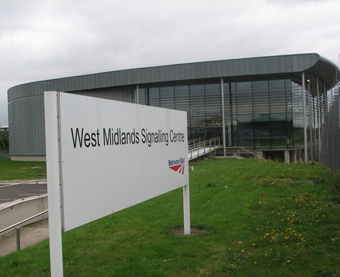 West Midlands Signalling Centre