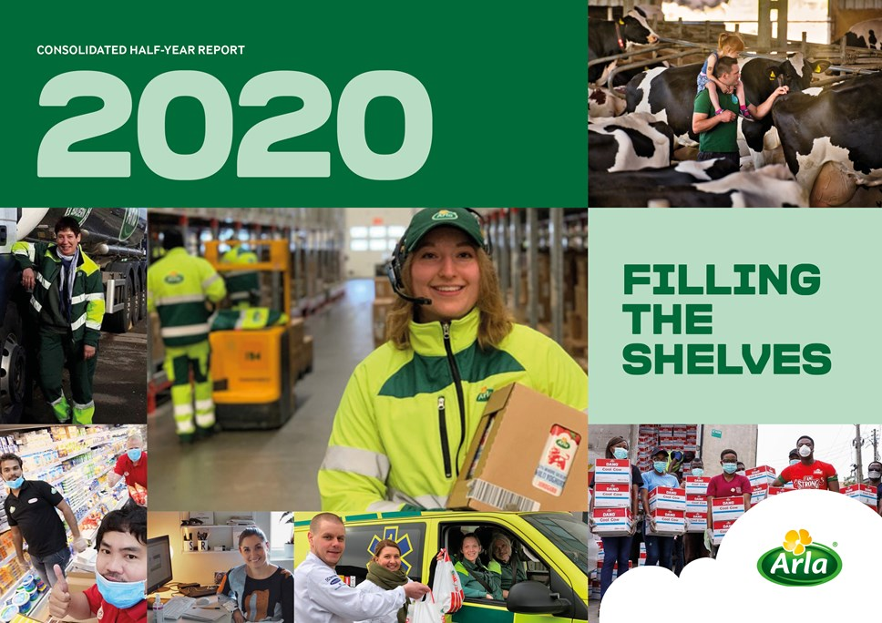 Arla HY report 2020 UK cover