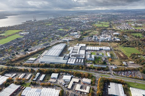 Michelin 5988-305: Michelin, Dundee - looking west