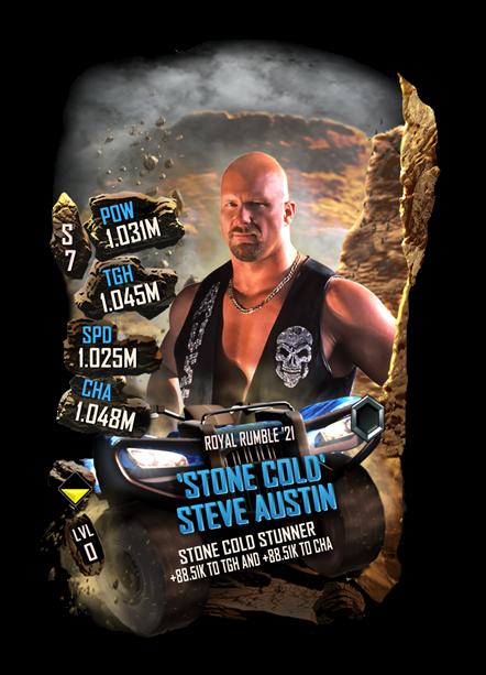 WWE SuperCard Stone Cold Steve Austin 1