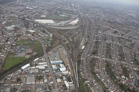 Croydon bottleneck / Selhurst triangle 3