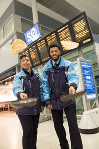 Southeastern rolls out pancake celebrations: Passenger hosts with pancakes
