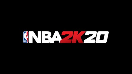 NBA2K20 Logo Black