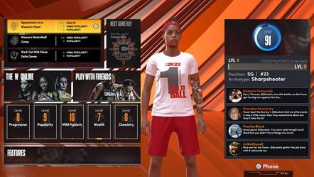 NBA 2K22 The W - 1