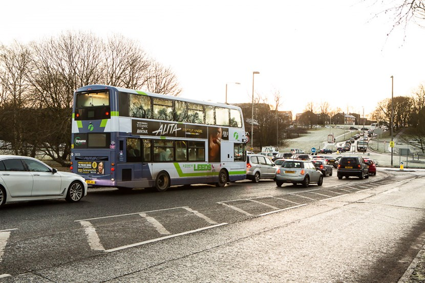 Senior councillors in Leeds to agree bus priority measures along the A61 North and A65 signal upgrades: busroundaboutstonegateroad-464566.jpg