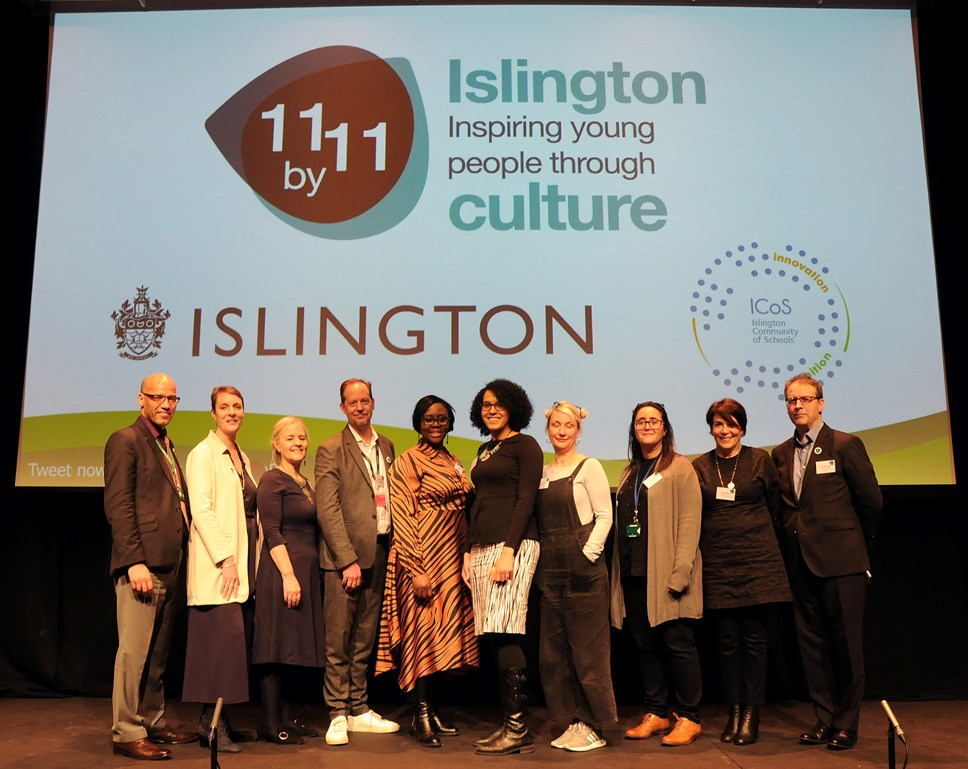 Leading cultural and creative organisations sign up to guarantee thousands of Islington pupils 'outstanding' experiences before leaving school: 11 by 11 launch event