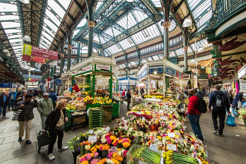 Visitors encouraged to make the most of Leeds's diverse trails this bank holiday weekend: Kirkgate Market, Leeds - credit Leeds City Council  (5)