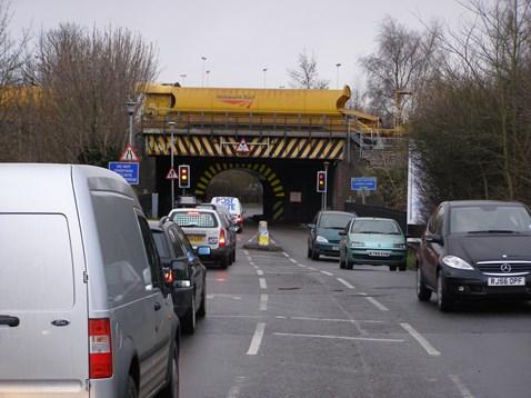 Congestion at Cow Lane Bridge