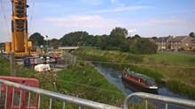 Harts bridge installation work