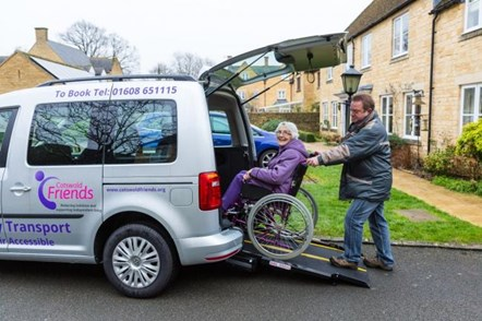 Council grant to support vital services in the North Cotswolds: cotswold friends transprot services