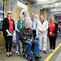 Nominate your local station for a share of £300 million fund to install step-free access: Gravesend Disability Access Awareness 02