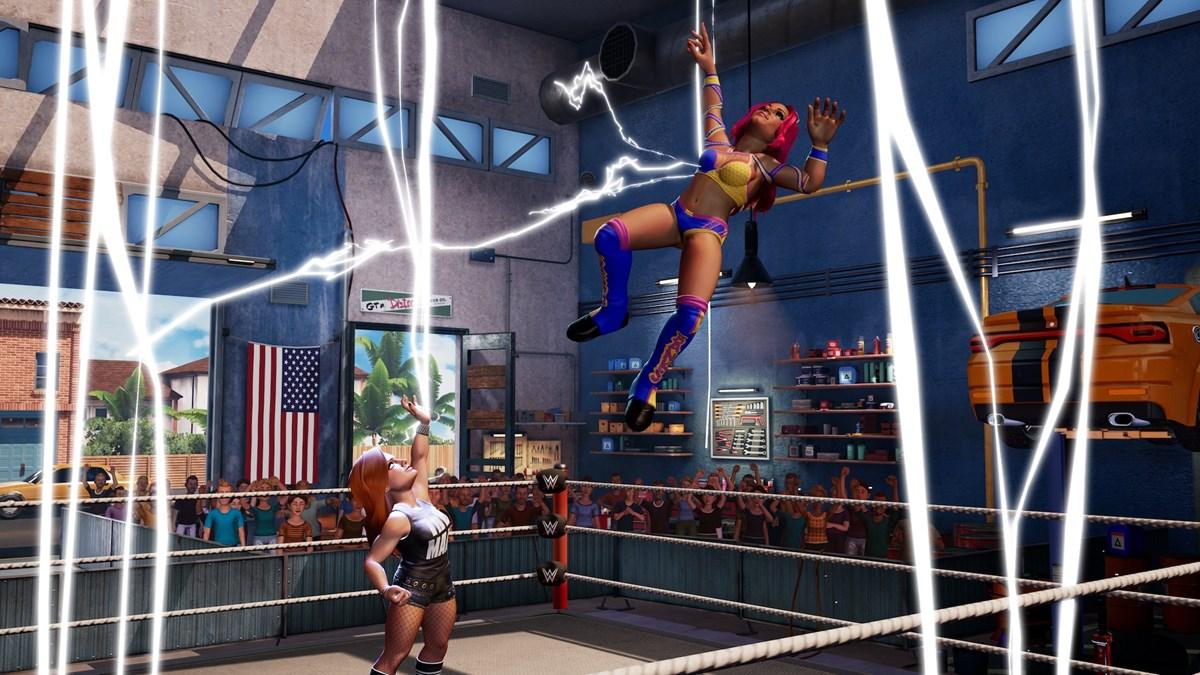 WWE2K BG Sasha Banks vs Becky Lynch