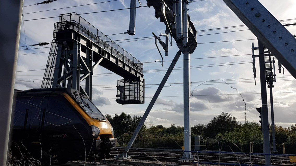 Network Rail to carry out vital signalling work in Bristol ahead of the introduction of more frequent services this winter: signalling equipment Bristol