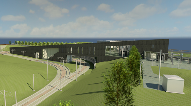 Edinburgh Gateway artists impression
