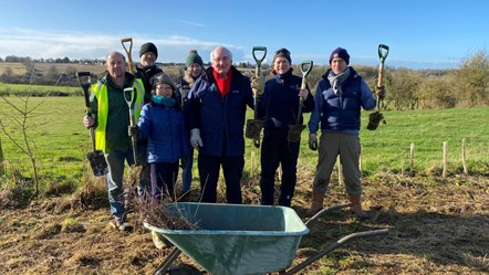 Treemendous! Wychwood Project plants over 2000 trees in Fulbrook: wychwood-tree-planting