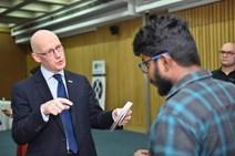 4- Deputy First Minister John Swinney meets Social Entrepreneurs in India