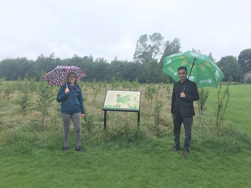 25-year green initiative to create new woodlands across Leeds launched: King Alfred's Field Woodland
