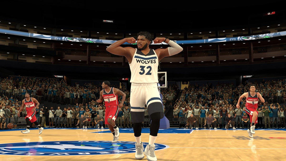 NBA 2K Mobile Season 4 KAT-3