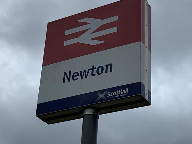 Photo 3 - Newton Station Sign