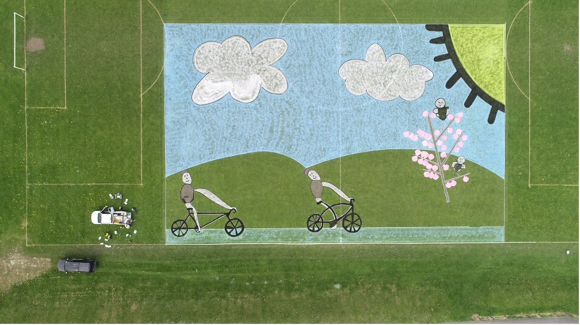 UCI Road World Championships land art competition launched: armleytourdeyorkshirelandart-242595.png