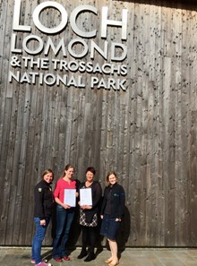 Teaching in Nature 2015 16 - Professional Recognition - Sarah & Emily photo