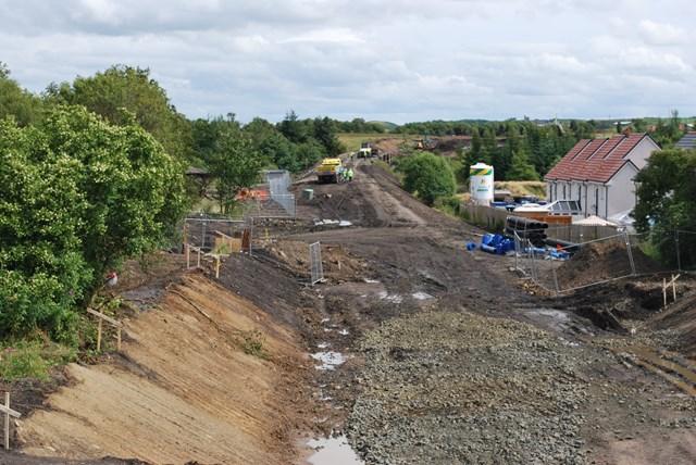 Airdrie-Bathgate Rail Link construction_001