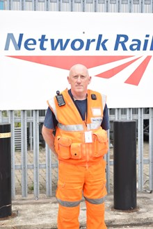 Michael Budd, Mobile Operations Manager at Network Rail's Wessex Route (1)