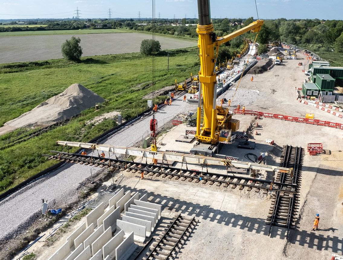 So far, Soham good for station opening in December: Soham Crane 1