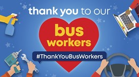 Bus and coach industry pays tribute to key workers: Thank you to our bus workers