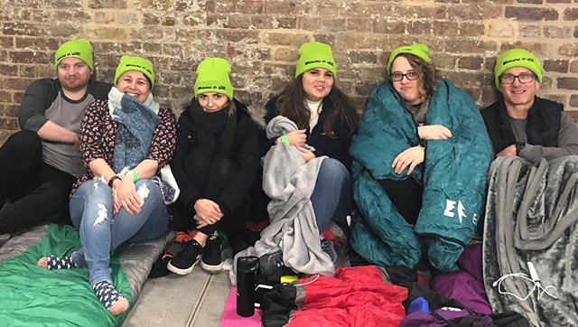 Sleepout volunteers 5