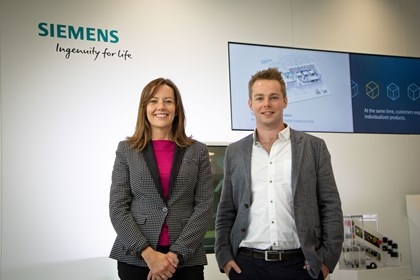 Siemens double hire in intralogistics: IMG 6913 1