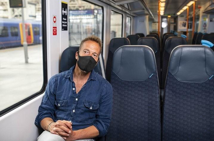 Golden Ticket - Ben Fogle on train