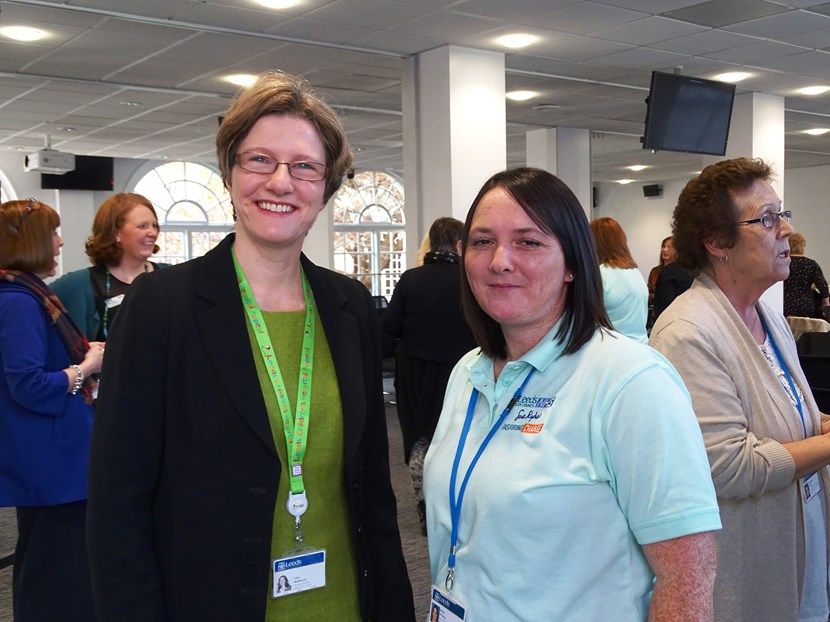 You're hired! New Leeds health and social care apprenticeships offer bright opportunities: cllrmulherinandkelly1.jpg