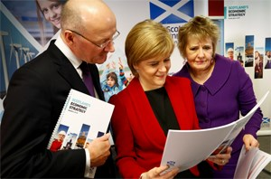 Growing Scotland's Economy – Scotland aims to join Europe's best: Scotland's Economic Strategy