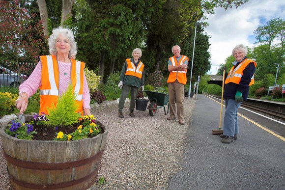 Volunteers at Church Stretton