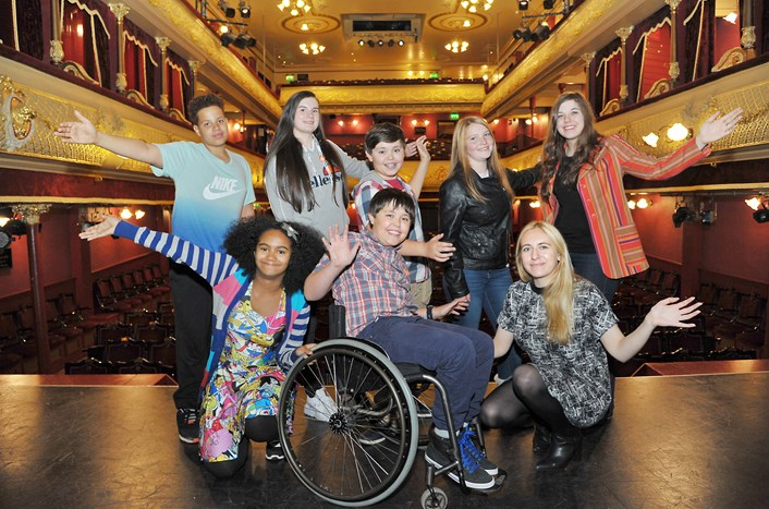Youngsters get to work planning prestigious Leeds awards: dsc_7158a.jpg