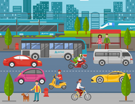 Arriva Blog: The hidden contribution of public transport to our society - so much more than buses and trains.: Arriva City