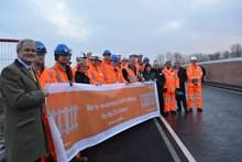 Ufton Nervet bridge opening
