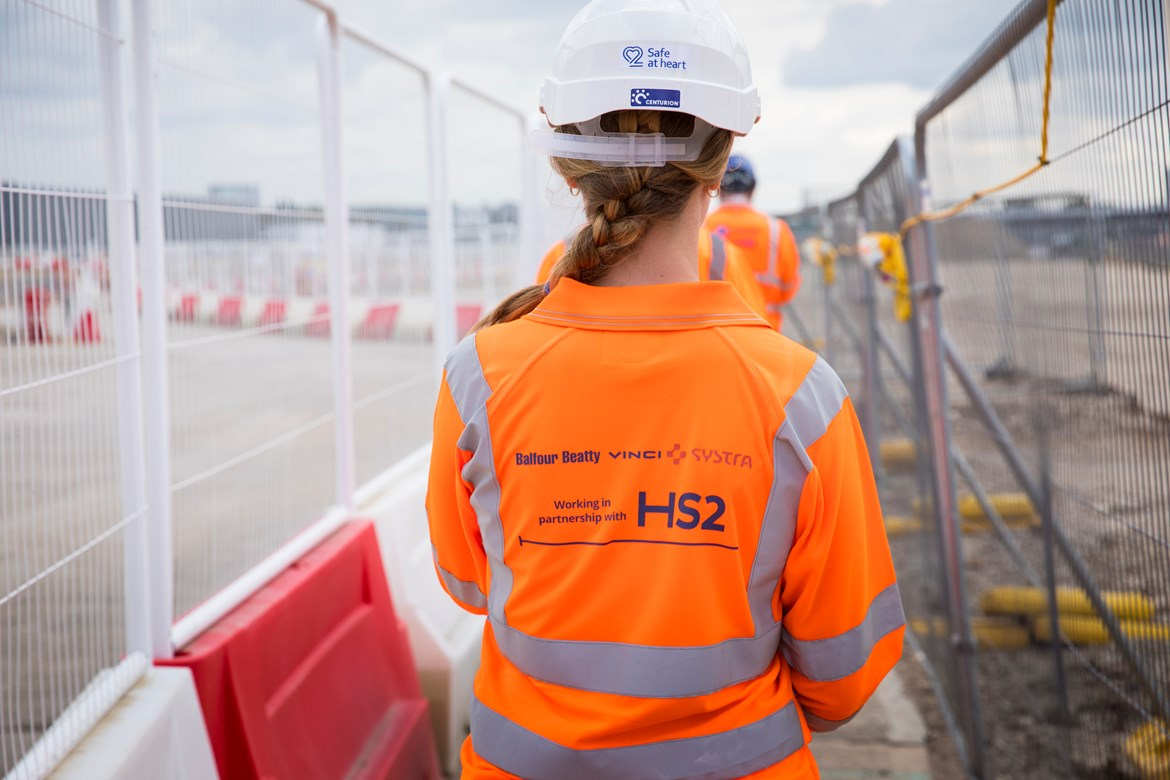 HS2's 'super-hub' Old Oak Common construction site handed over to contractors Balfour Beatty VINCI SYSTRA: BBVS Old Oak Common HS2 site handover