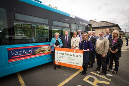 Public transport users in County Durham to benefit from new joint rail and bus ticket: Bishp train and bus ticket