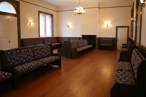 Folkestone West Waiting Room