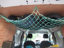Forvie NNR - Netting used for storage in a van - credit SNH