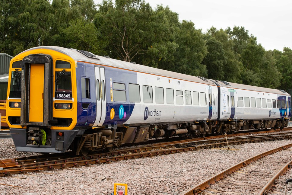 North East customers get extra Newcastle - Carlisle services: JP3 4308